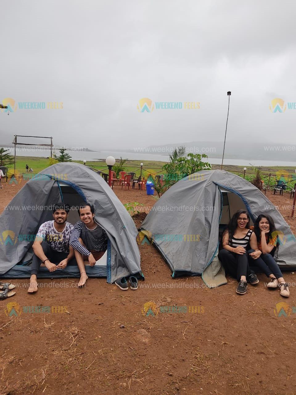 camping at Pawna Lake