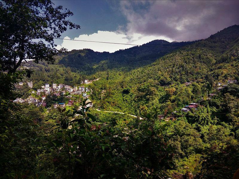 View point Gangtok Sikkim