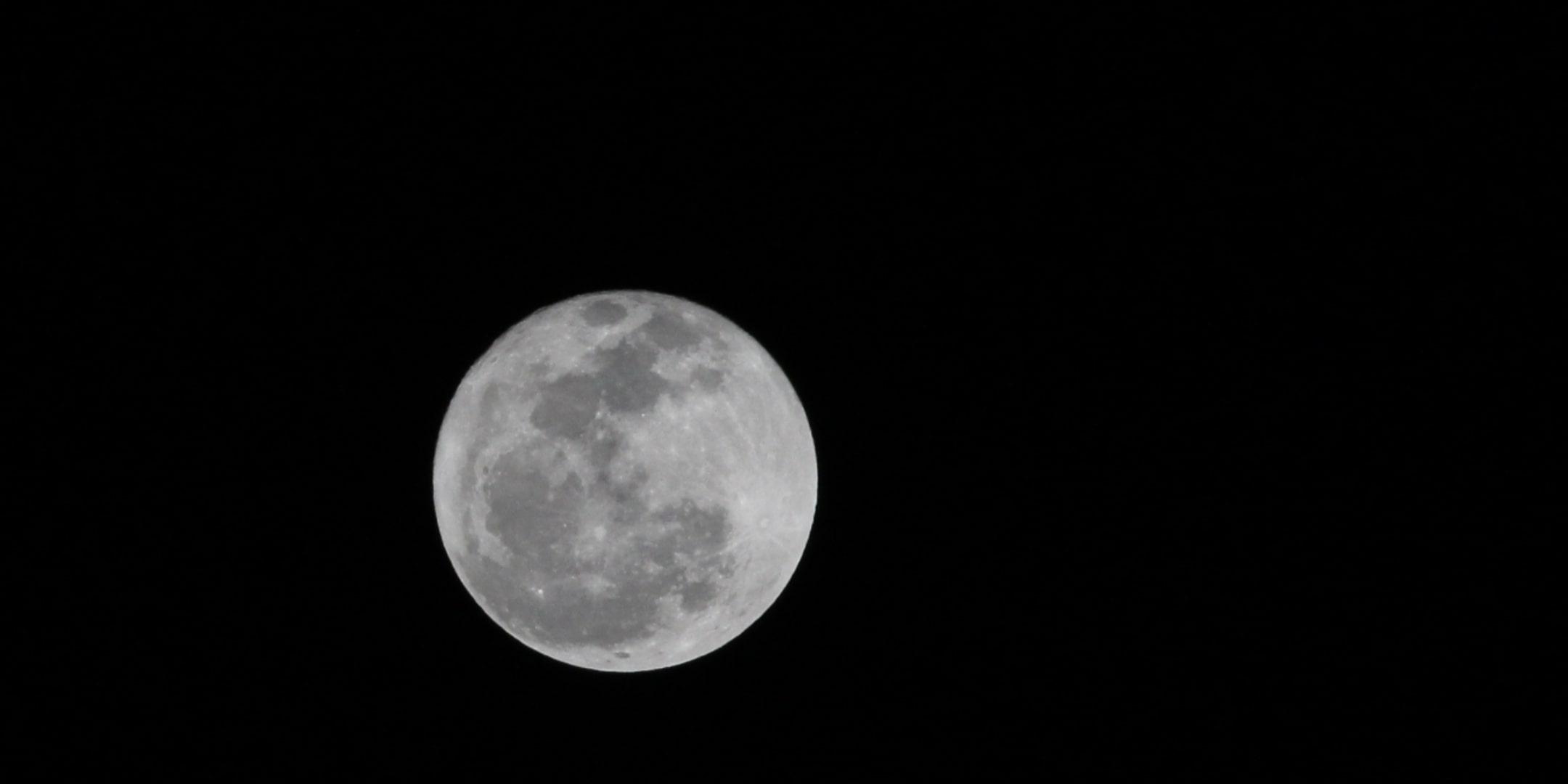 moon pic on k2s trek