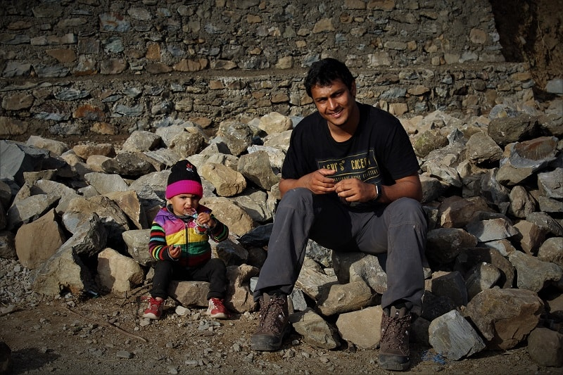 onacheaptrip at Auntad Nag Tibba Trek