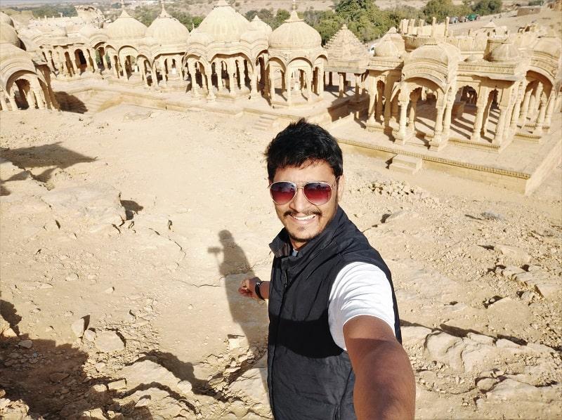 onacheaptrip at Bara Bagh Jaisalmer