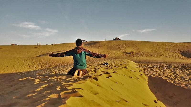 Onacheaptrip at Sam Desert jaisalmer