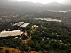 Aamby valley as seen from Korigad Fort Trek
