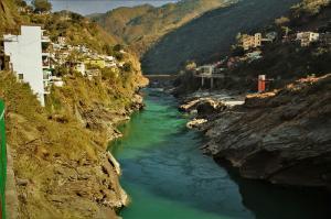Alakhnanda river Devprayag Uttrakhand