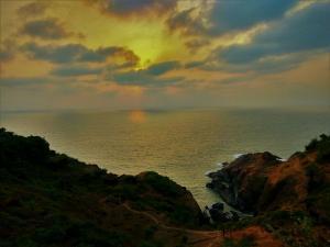 Beautiful beach view at Gokarna Karnataka