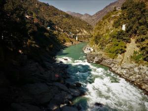 Bhagirathi River Devprayag Uttrakhand