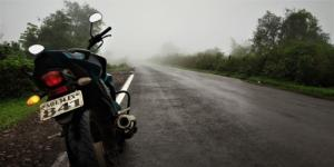 Foggy conditions Tamhini Ghat