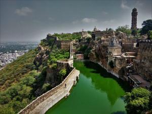 Gau mukh Kund Chittorgarh Fort Rajasthan