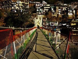 Hanging bridge Devprayag Uttrakahand