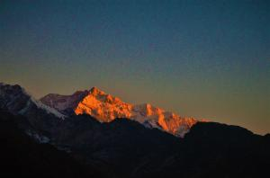 Himalayan range from Pelling Sikkim