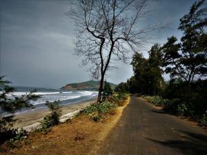 In route Diveagar Beach