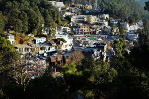 Kausani town