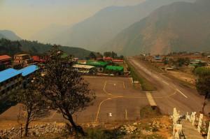 Lukla airport 2880 m Everest Base Camp trek