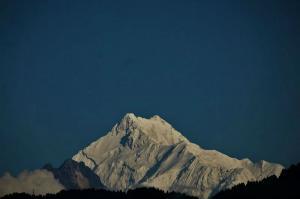 Mount Kanchenjunga view Gangtok Sikkim