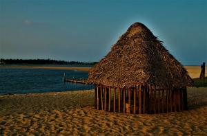 Paradise Beach in Puducherry