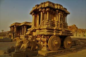 Stone Chariot Hampi Karnataka