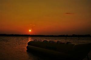 Sunset views at Puducherry