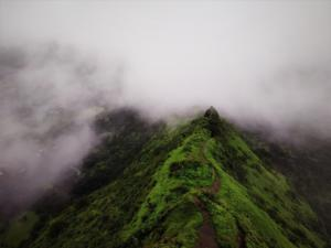Tung Fort covered under clouds