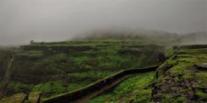 Visapur Fort walls