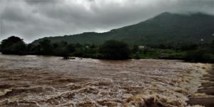 amazing river in route Korigad Fort Trek