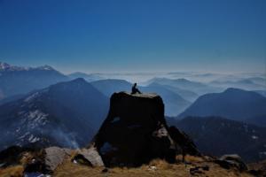 amazing scenes on Khalia top trek Munsiyari