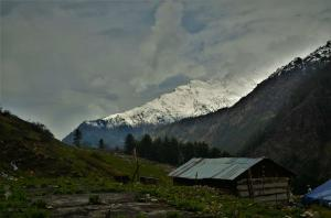 breathtaking view Kasol Himachal