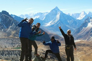 chola pass route Everest Base Camp trek