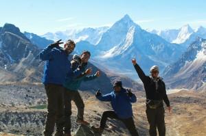 chola pass route Everest Base Camp trek