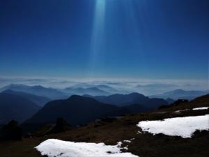 heavenly feelings at Khalia top trek Munsiyari