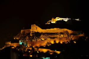 lightening kumbhalgarh Fort