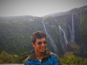 me at Jog Falls Karnataka
