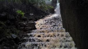staircase way Visapur Fort trek