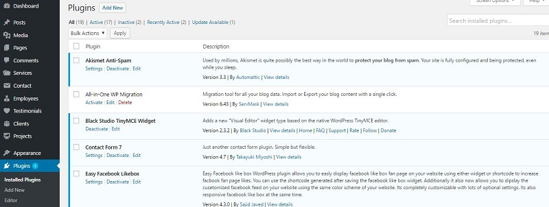plugin wordpress start a blogging website