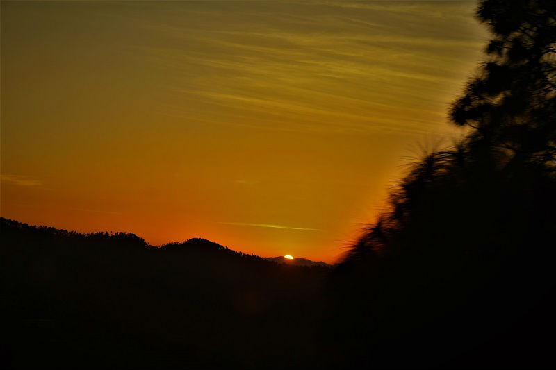 sunrise Pauri Uttarakhand