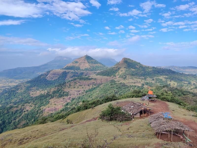 surrounding views from Harihar Fort