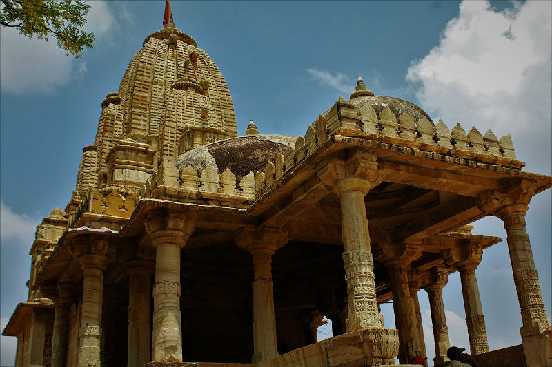 temple at Chittorgarh Fort Rajasthan