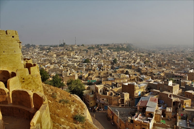 view from Topkhana Jaisalmer